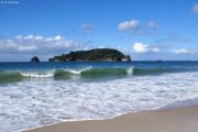 Hahei Beach. Coromandel Halbinsel