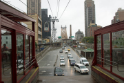 Roosevelt Island Tramway, Queensboro Bridge