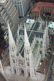 St. Patrick's Cathedral. Top of the Rock/Rockefeller Center