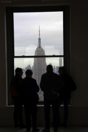 Empire State Building. Top of the Rock/Rockefeller Center