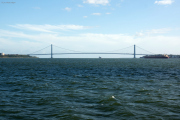 Verrazano-Narrows Bridge. Staten Island, Brooklyn. Staten Island Ferry