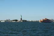 Statue of Liberty, Staten Island Ferry
