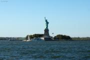 Statue of Liberty. Staten Island Ferry