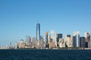 Lower Manhattan. Staten Island Ferry