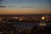 New Jersey, Hudson River. Top of the Rock/Rockefeller Center