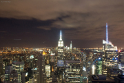Empire State Building, Bank of America Tower. Top of the Rock/Rockefeller Center
