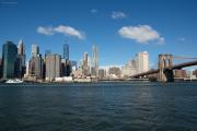 Lower Manhattan, Brooklyn Bridge