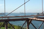 Brooklyn Bridge. Statue of Liberty