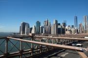 Brooklyn Bridge. Lower Manhattan