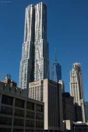 8 Spruce Street, One World Trade Center