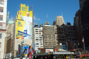8th Ave/Madison Square Garden nach dem Papstbesuch