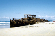 Fraser Island, S.S. Maheno-Wrack