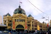 Merlbourne, VIC. Flinders Street Station