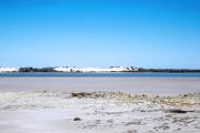 Coorong NP suedlich von Adelaide. Salzsee