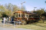 Adelaide, SA. Tram nach Glenelg