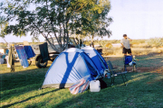 Camping in Exmouth