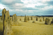 Nambung NP. The Pinnacles