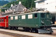 Ge 4/4 I 601 in Disentis/Mustér.