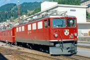 Ge 6/6 II 703 in Disentis/Mustér.