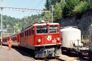 Ge 6/6 II 707 in Reichenau-Tamins.