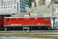 Ge 4/4 I 608 in St. Moritz. 1989