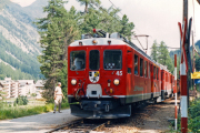 ABe 4/4 45 in Surovas. 1990