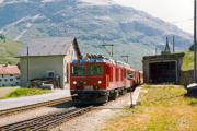 Gem 4/4 802 in Bernina Suot. 1990