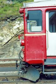 Front des ABe 4/4 32. 1990