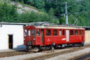BDe 4/4 38 in Poschiavo. 1990