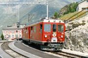 ABe 4/4 44 in Alp Grüm. 1990