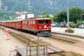 Ge 6/6 II 701 in Filisur. 1990