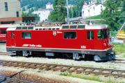 Ge 4/4 II 626 in Pontresina. 1990