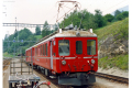 ABe 4/4 501 in Filisur. 1990