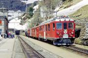 ABe 4/4 41 in Alp Grüm. 2001