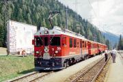ABe 4/4 56 in Cavaglia. 2001
