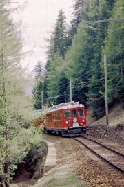 ABe 4/4 46 zwischen Cadera und Cavaglia. 2001