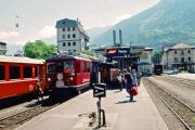 ABe 4/4 48 in Tirano. 2001
