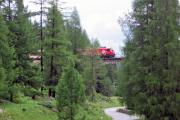 Ge 4/4 III zwischen Bergün und Preda