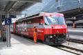 Ge 4/4 III 646 vor einem Glacier Express in Chur