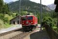 Ge 4/4 I 603 bei der Einfahrt in Bergün/Bravuogn