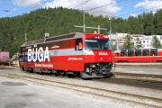 Ge 4/4 III 646 in St. Moritz