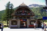 Stationsgebäude von Cavaglia