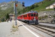 ABe 4/4 56 in Alp Grüm