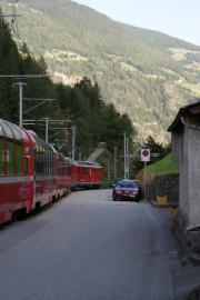 Bernina Express bei Miralago