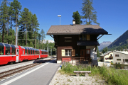 Bernina Express in Surovas