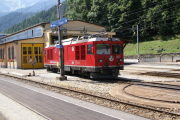 Gem 4/4 802 in Poschiavo