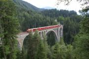 Wiesener Viadukt mit Pendelzug