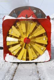 Front der Xrotd 9213. Ospizio Bernina.