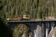 Tm 2/2 96 auf dem Wiesener Viadukt.