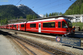 """Allegra"" ABe 8/12 3501 in Pontresina."